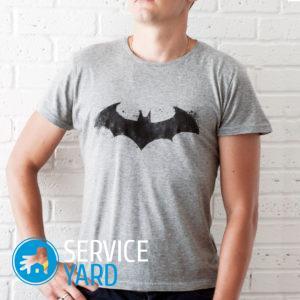 Как сложить футболку?