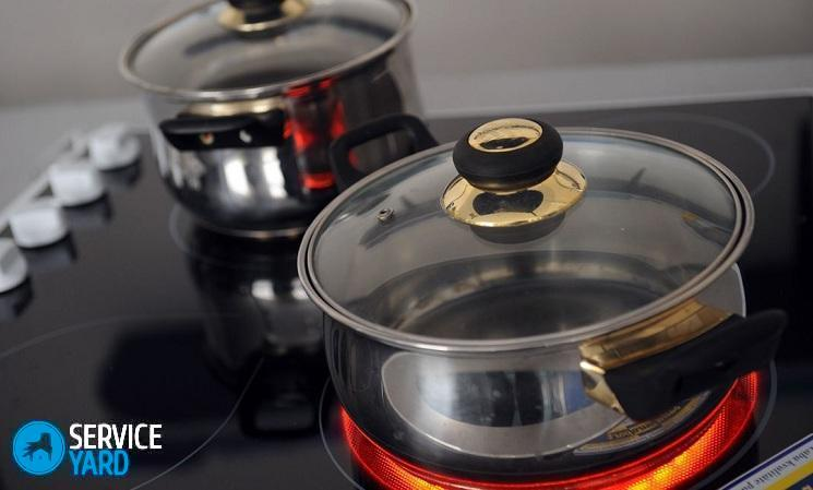 Посуда для стеклокерамической плиты - как выбрать, ServiceYard-уют вашего дома в Ваших руках