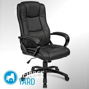 Офисный стул опускается вниз — как починить?