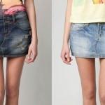 Как из юбки сделать шорты?