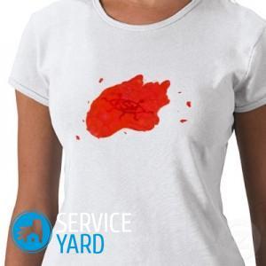 Как вывести старую краску с одежды в домашних условиях?