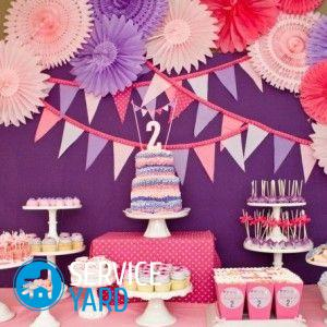Как украсить комнату на день рождения своими руками 5