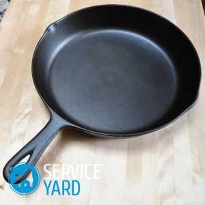 Очистка сковороды от нагара клеем