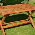 Раскладной стол для пикника своими руками