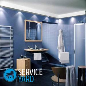 Монтаж панелей ПВХ в ванной