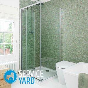 Как сделать в ванной душ без поддона?