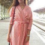 Платье-халат с запахом — выкройка