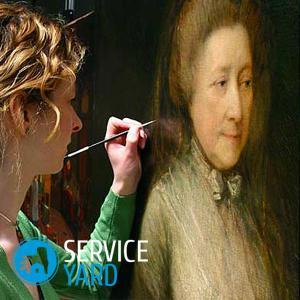 Реставрация картин на холсте своими руками