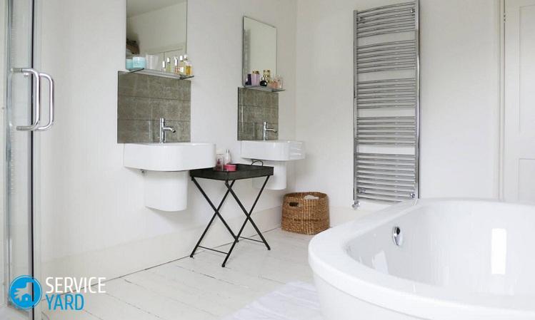 Наливной пол в ванной комнате своими руками