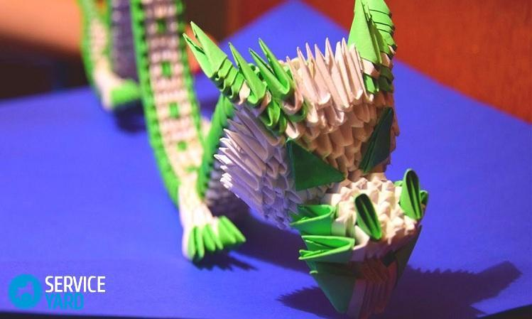 3d-origami-green-chinese-dragon-of-paper-tutorial