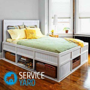Кровать из фанеры своими руками