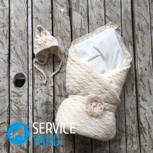 Одеяло-трансформер для новорожденного своими руками — мастер-класс