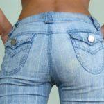 Покраска джинсов в стиральной машине