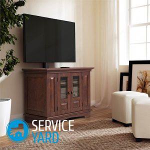 Полка под телевизор на стену своими руками