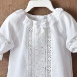 Платье для девочки на крещение своими руками