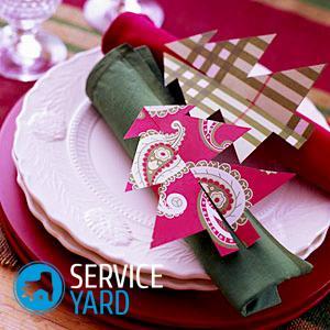 Как сложить салфетки для сервировки стола тканевые?