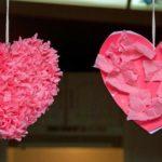 Сердце из салфеток своими руками