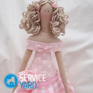 Одежда для куклы-большеножки своими руками