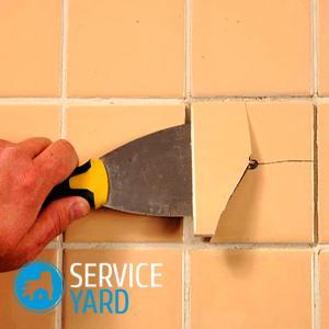 Как клеить плитку на стену?