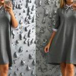 Как сшить платье-трапеция?