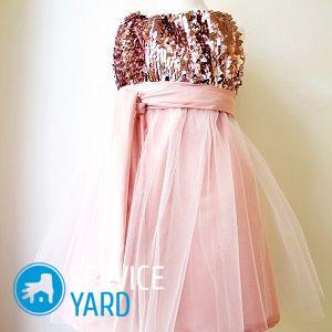 Платье принцессы для девочки своими руками