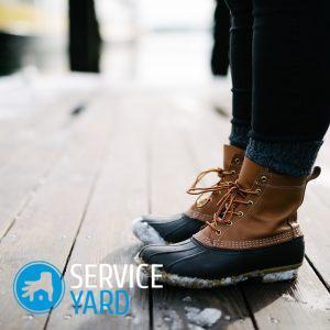 Разносить обувь в домашних условиях