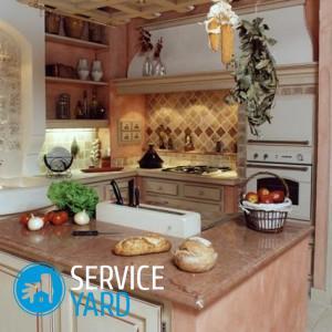 Кухонный гарнитур из гипсокартона своими руками