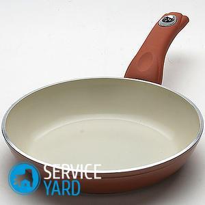 Сковорода с керамическим покрытием пригорает — что делать?