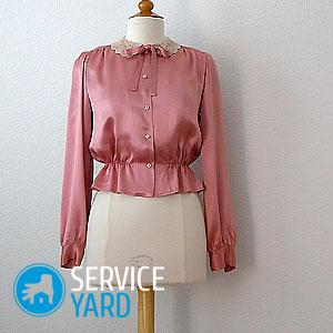 Простая выкройка блузки