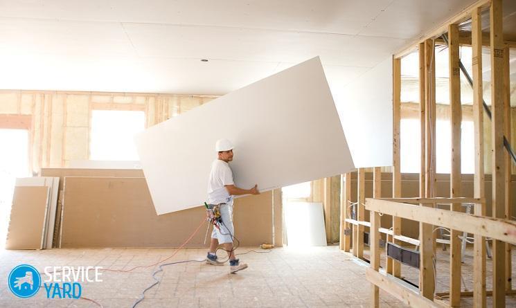 Обшивка стен гипсокартоном - Ремонт своими руками