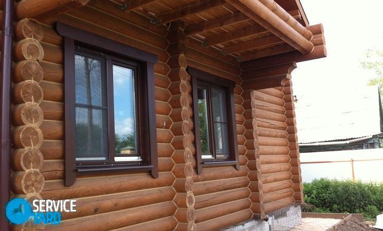 Монтаж пластиковых окон в деревянном доме - Ремонт своими руками