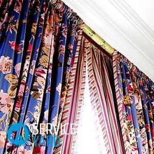 Сшить шторы из двух тканей разных цветов своими руками — схемы