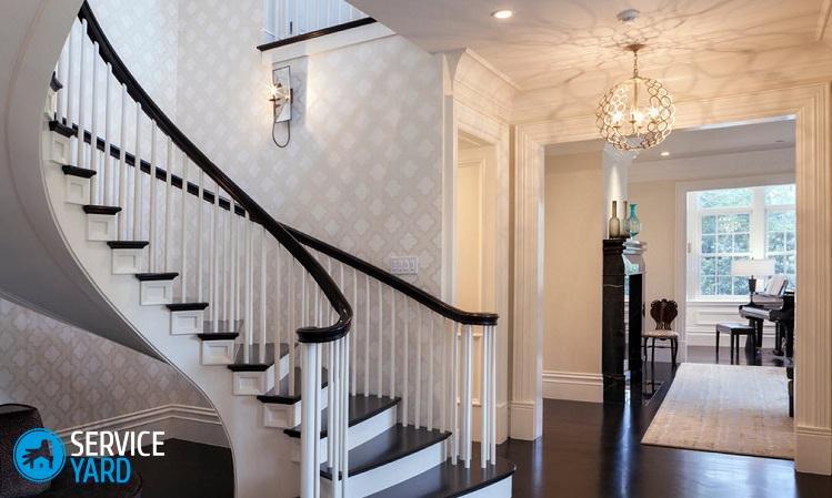 Лестница в коттедже на второй этаж - Ремонт своими руками