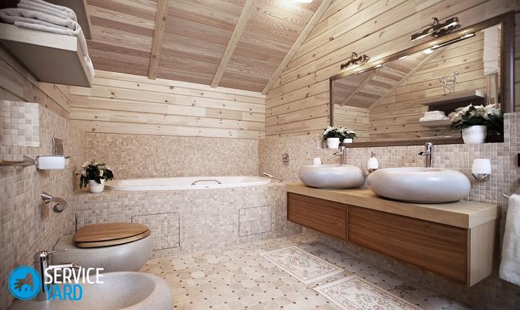 Как сделать ванную комнату в деревянном доме своими руками? Ремонт своими руками
