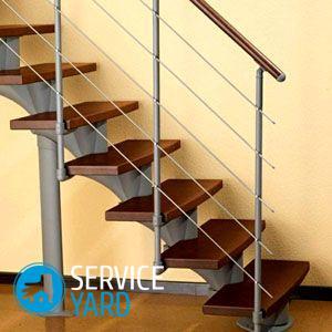 Модульная лестница своими руками из металла — чертежи