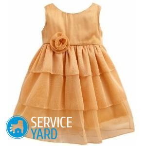 Платье из шифона сшить самой легко