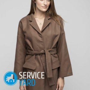 Укоротить пальто своими руками