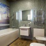 Стеновые панели для ванной — монтаж