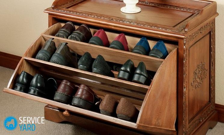 Как лучше хранить обувь