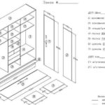 Шкаф-купе своими руками — чертежи, описание