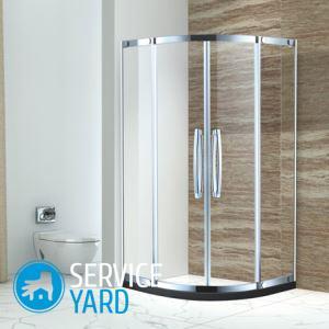 Ванная комната с душевой кабиной — дизайн