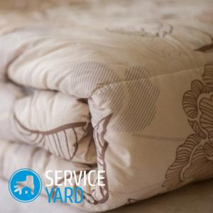 Как постирать одеяло из овечьей шерсти в стиральной машине?