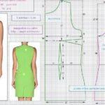 Платье-мешок — выкройка своими руками