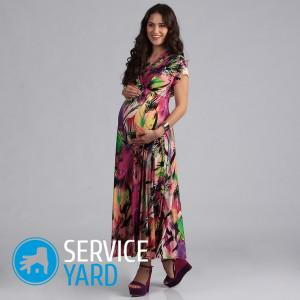 Сарафан для беременных своими руками с выкройками