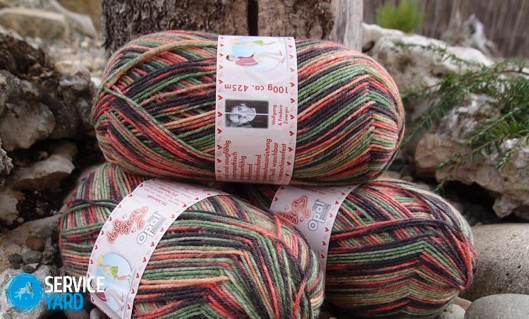 Состав пряжи для вязания носков 45