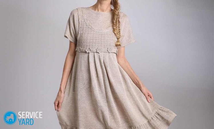 Платье из льна сшить своими руками фото 876