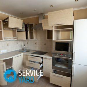 Сборка кухонного гарнитура