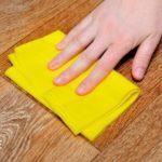 Царапины на ламинате — как убрать?