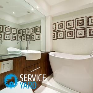 Ванная 9 кв. м — дизайн