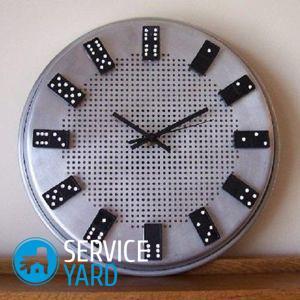 Часы на стену своими руками — мастер-класс